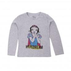 T-shirt Reige Gris chiné