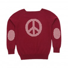 Pull Mippy Peace&Love Cassis