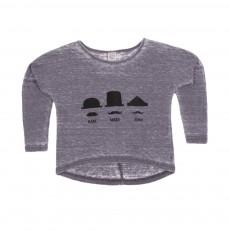 T-shirt Karl Marc John Gris charbon
