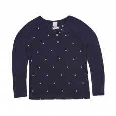 T-shirt Etoiles Terny Bleu marine