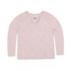T-shirt Etoiles Terny Rose poudré