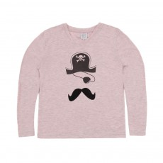 T-shirt Pirate Rose poudré
