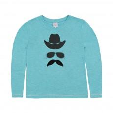 T-shirt Pirate Bleu turquoise
