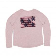 T-shirt Etoile Tommy Rose poudré