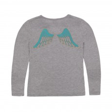 T-shirt Angel Gris chiné