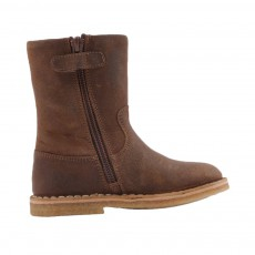 Bottines Bicolore Cosytik Marron