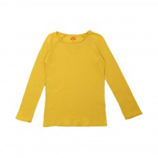 T-shirt Manches Longues Ocre