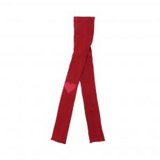 Collants Cœur Rouge