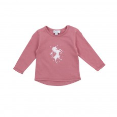 T-shirt Licorne Pony Rose