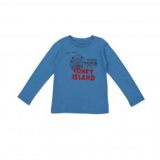 "T-shirt ""Coney Island"" Rolling Bleu"
