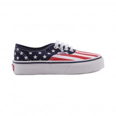 Baskets Stars & Stripes Authentic Rouge