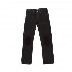 Pantalon Ziggy Velours Noir