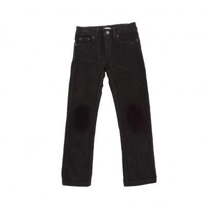 Pantaloni Ziggy Velluto Nero