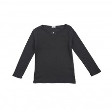 T-shirt Pois Romy Gris anthracite