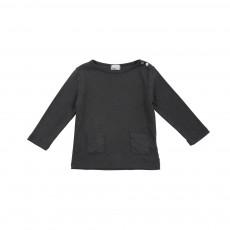 T-shirt Pois Suzette Gris anthracite