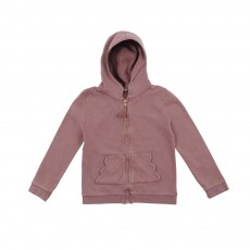 Sweat Poche Nuage Marron glacé