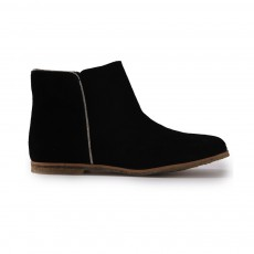 Boots Zippées Noir