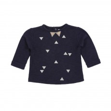 T-shirt Pointu Bleu marine