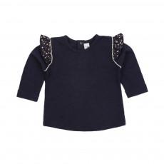 T-shirt Tête Dans Les Etoiles Bleu marine