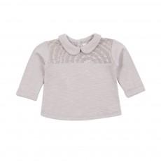 T-shirt Déployer Ses Ailes Gris perle