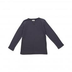 T-shirt coudières Anson Gris charbon