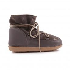 Boots Etoiles Fourrées Anouk Gris