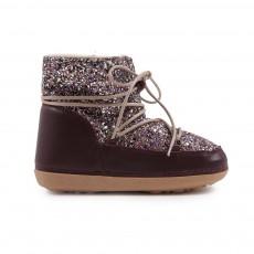 Boots Fourrées Paillettes Multicolores Anouk