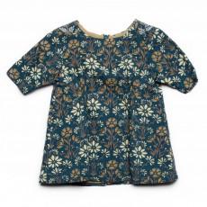 Robe Kiloe imprimés fleurs Bleu
