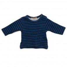 T-shirt Rayé Tale Bleu