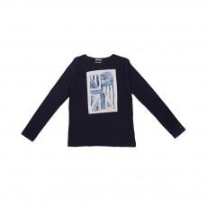 T-shirt Drapeau Bleu nuit