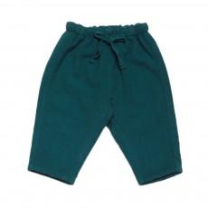 Pantalon Ginkgo Bleu canard