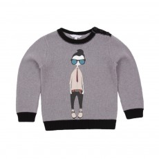 Pull MrMarc Tricot Gris