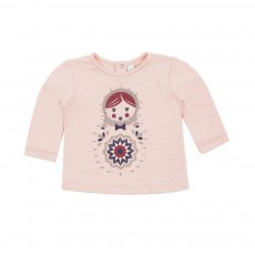 T-shirt Dessine Moi Matryoshka Rose