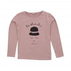 T-shirt La Plus Chic Vieux Rose