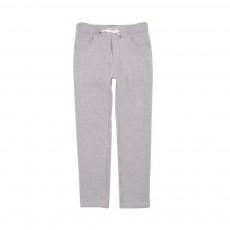Pantalon Molleton Gris chiné