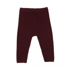 Pantalon 4 Fils Prune