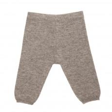 Pantalon Cachemire Gris chiné