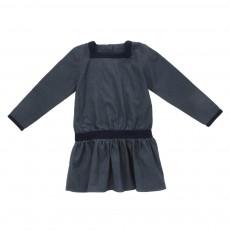 Robe Anna Bleu gris