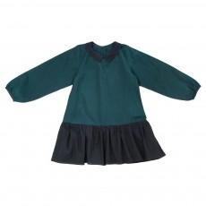Robe Bicolore Adèle Bis Vert