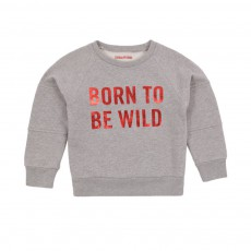 Sweat Born To Be Wild Oily Gris clair