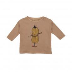 T-shirt Superpeanut Bébé Ecru