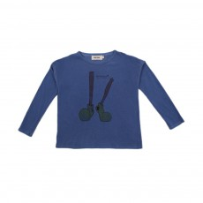 T-shirt Jambes Bleu