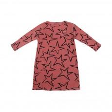 Robe Etoiles Rose pêche