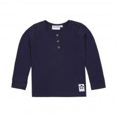 T-shirt Basic Grandpa Bleu marine
