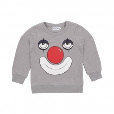 Sweat Clown Gris chiné