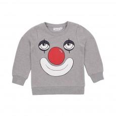 Sweat Clown Gris chiné