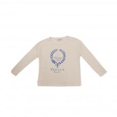 T-shirt Lauriers Venice Ecru