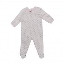 Pyjama Pois Multicolore Learn Blanc cassé