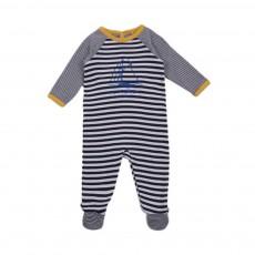 Pyjama Rayée Lavandou Bleu