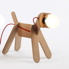 Lampe Get out dog - Naturel